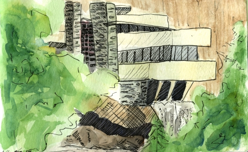 Frank Lloyd Wright: Falling Water